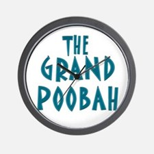 Grand Poobah Wall Clock