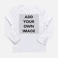 Custom Add Image Long Sleeve Infant T-Shirt
