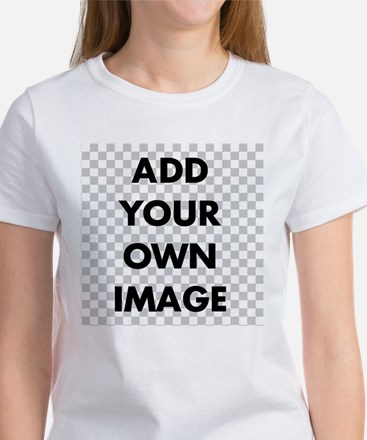 Custom Add Image Women's T-Shirt