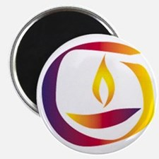 """Rainbow Chalice 2.25"""" Magnet (10 pack)"""