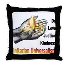 Do_Love_Justice_Kindness Throw Pillow