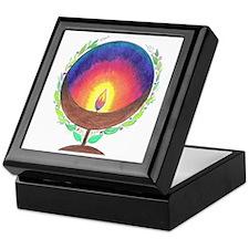 Rainbow Flame Keepsake Box