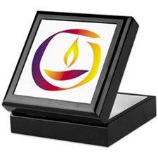 Rainbow Chalice Keepsake Box