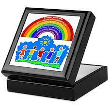 Rainbow Principles Kids Keepsake Box