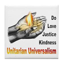 Do_Love_Justice_Kindness Tile Coaster
