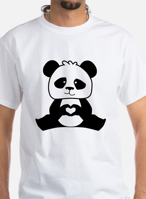 Panda's hands showing love Shirt
