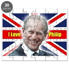 I Love Philip - Prince Philip Puzzle
