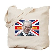 I Love Philip - Prince Philip Tote Bag