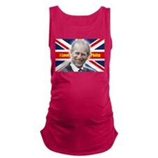 I Love Philip - Prince Philip Maternity Tank Top