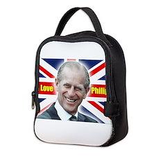 I Love Philip - Prince Philip Neoprene Lunch Bag