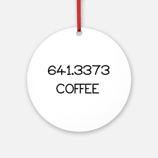 641.3373 Round Ornament