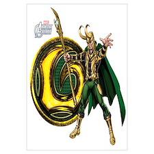Loki Icon Wall Art