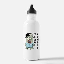 Team Zombie Water Bottle