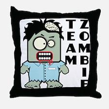 Team Zombie Throw Pillow