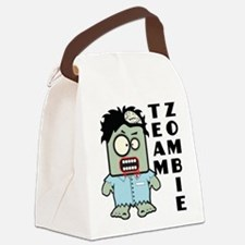 Team Zombie Canvas Lunch Bag