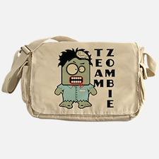 Team Zombie Messenger Bag