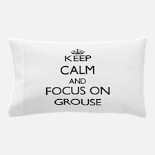Unique Ruffed grouse Pillow Case
