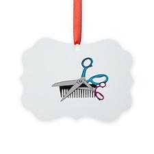 Comb & Scissors Ornament