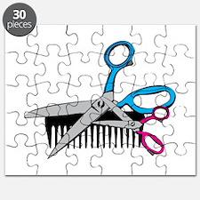 Comb & Scissors Puzzle