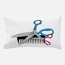 Comb & Scissors Pillow Case