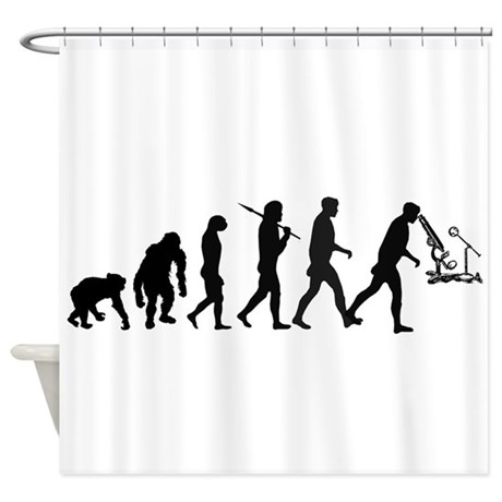 Scientist Lab Technician Shower Curtain