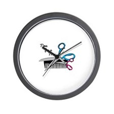Time for a Trim Wall Clock