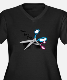 Time for a Trim Plus Size T-Shirt