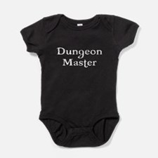 Dungeon Master Tabletop Fantasy RPG Baby Bodysuit