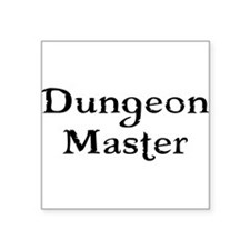 Dungeon Master Tabletop Fantasy RPG Sticker