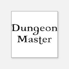 Dungeon Master Tabletop Fantasy RPG Sticker