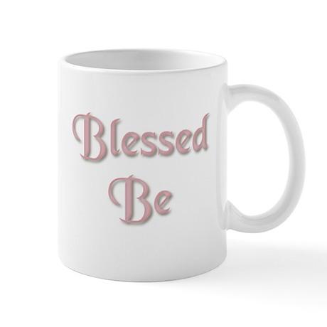 Blessed Be Rose Left Handed Mug