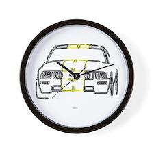 Rent A Racer Wall Clock