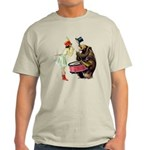 Drumming Bear Light T-Shirt