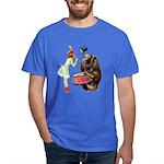 Drumming Bear Dark T-Shirt