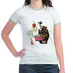 Drumming Bear Jr. Ringer T-Shirt