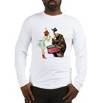Drumming Bear Long Sleeve T-Shirt