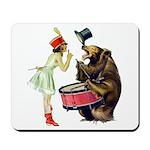 Drumming Bear Mousepad