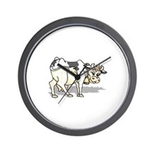 Farm Cow Bell Wall Clock