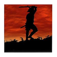 The Lone Samurai Tile Coaster