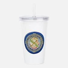 Cute Investigating Acrylic Double-wall Tumbler