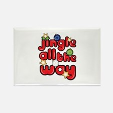 Jingle All The Way Magnets