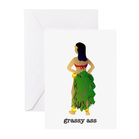 Grassy Ass Greeting Cards (Pk of 10)
