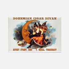 Bohemian Cigar Divan 1885 Rectangle Magnet Magnets