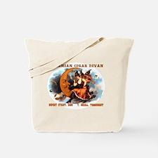 Bohemian Cigar Divan 1885 Tote Bag
