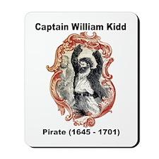 Captain William Kidd Pirate Mousepad