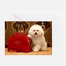Bicho Frise y Bolso Greeting Card