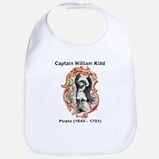 Captain William Kidd Pirate Bib