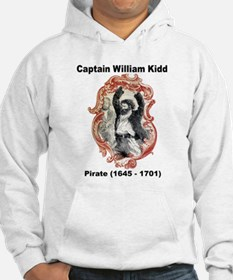 Captain William Kidd Pirate (Front) Hoodie