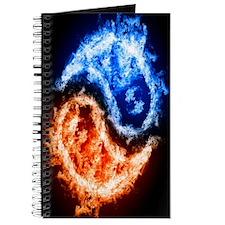 Fire And Water Yin Yang Journal