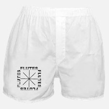 Flute Player T-shirts and Gif Boxer Shorts